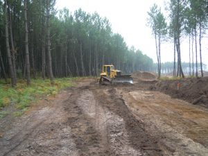 Travaux de terrassement Bull création de routes 9
